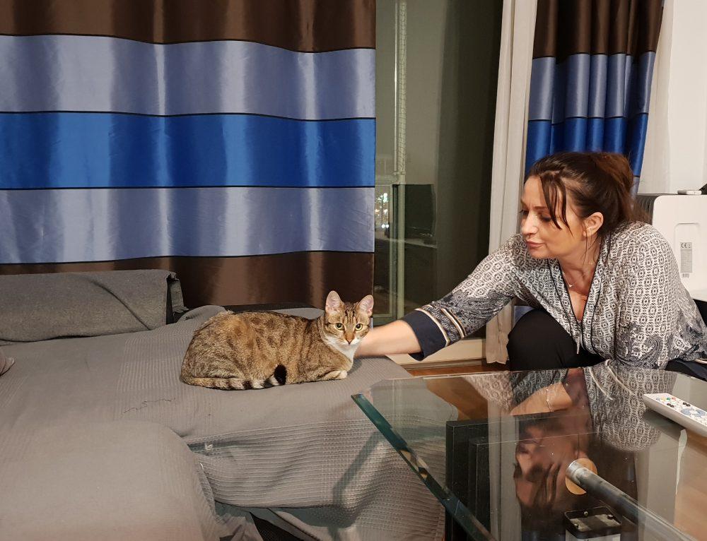 Gwendulina und Lori-tägliche REVIERKÄMPFE