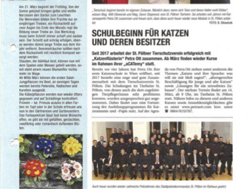 Artikel im St. Pöltner Konkret
